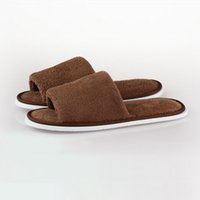 Wholesale Wholesale Women Shoes For Sale - Hot Sale Travel Hotel Soft Home Slippers Coral Fleece Thicken Bottom Indoor Slippers Women for Men Floor Ladies Shoes TM0059