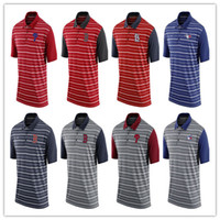 Wholesale White Collared Shirt Grey - Mens polo shirt Boston Red Sox Philadelphia Phillies St. Louis Cardinals Toronto Blue Jays nice slim mens stand collar shirt