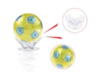 Wholesale Soccer Puzzles - Puzzle toys building blocks 3D flash soccer crystal puzzles 3D stereoscopic crystal building blocks puzzle
