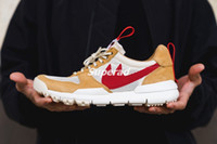 Wholesale Vintage Lace Yards - Tom Sachs x Craft Mars Yard 2.0 TS NASA Mens Running Shoes AA2261-100 Natural Sport Red Sneaker Sport Shoe Zapatillas Vintage Trainer