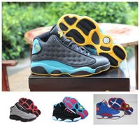 Wholesale E Got - Air Retro 13 XIII Men women Basketball Shoes sneakers All black red Bred He Got Game Black Sneaker Sport Shoes