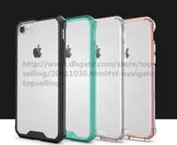 Top Quality Unicorn Beetle Hybrid Colorful Bumper Case Premium Clear Tampa TPU + PC para iPhone x 8 7 Plus 6 6s Plus para Samsung