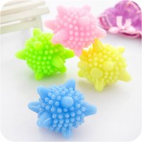 Wholesale Magic Balls Cleaning - Korean Style Magic Solid Washing Ball Winding Preventing Cleaning Ball with Strong Decontamination Using for Washing Machine