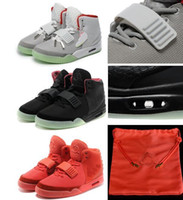 Wholesale Tassel Pink - Wholesale Hot sale Kanye West 2 Red October NRG RED PINK OCTOBER Basketball Shoes Men With Box