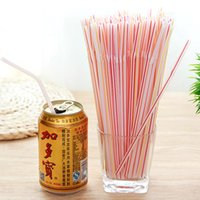 Wholesale Hot Sales pack Stretchable Disposable Juice Straw Milk Drinking Straw PP Top Quality Kitchen Tool