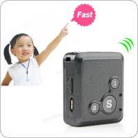 Wholesale Small Hand Held Gps - 2017 New Black V16 Personal GPS Device Real Time Tracker Small Size & Multifunction SOS Communicator ACA_106