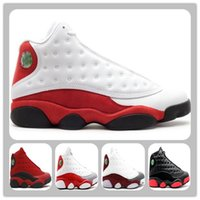 Wholesale Shoes Running Trainers - Retro 13 Chicago 2017 Black Cat He Got Game Basketball Shoes Retro XIII Cherry Flint mens Sports Shoe Athletic Sneakers running boot trainer
