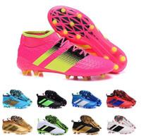 Wholesale Cheapest Best Winter Boots - 2017 Cheap Online Wholesale new arrival no lace soccer shoes Ace 16+ purecontrol soccer boots Pure Control Soccer Cleats Best Qualit