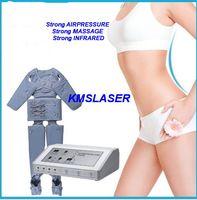 Wholesale Carbon Fiber Heated - Carbon fiber heating Desktop Fashion Lymph Drainage Body Slim Weight Loss Massage Popular Pressotherapy Machine with Sauna Suit Blanket
