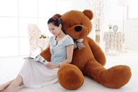 Wholesale teddy bear lovers big - 100cm Plush toys large size teddy bear big 5 colors embrace bear doll  lovers christmas gifts birthday gift