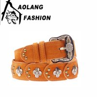 Wholesale The New Trend Of Belt Hot Style Fashion Is A Vintage Women s Leather Strap With A South Korean Version Of The Belt