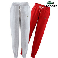 Wholesale Boys Tracksuit Bottoms - Mens Slim Fit Sweatpants Crocodile Embroidery Casual Tracksuit Bottoms Plain Men Fitness Workout Pants Track Long Joggers Sporting Trousers