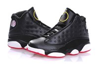 Wholesale Toddler Boys Athletic Shoes - Christmas Cheap Kids Air Retro 13 Shoes Children Basketball Boy Girl Retro 13s Black Sports Shoes Toddlers Athletic Shoes Birthday Gift