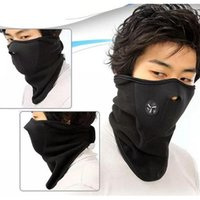 Wholesale Cold Masks - HOT Motorcycle Face Windproof Mask Outdoor Scarves Sports Warm Ski Cap Bicyle Bike Warm mask riding bicycle outdoor warm wind cold mask