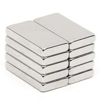блок постоянного магнита n52 оптовых-10шт 18,9 * 9,4 * 2,7 мм Блок N52 Прямоугольный магнит Редкоземельный NdFeB неодимовый постоянный магнит