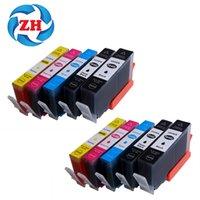 Wholesale Hp 5525 - 10 PCS Ink Cartridges 564XL Compatible For HP564 HP 564 564XL hp Photosmart 5510 5511 5512 5514 5515 5520 5522  5525 6510 printer