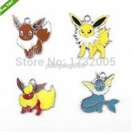 Wholesale Pikachu Jewelry - New Pikachu friend Charm pendants Jewelry Making Party Gifts tie0501