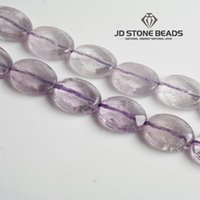 Wholesale Purple Jade Faceted - JD Stone Beads Free shipping Natural Faceted Ppurple Jade Stone Beads Strand For Jewelry Making acessory DIY Wholesale