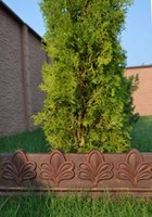 Decorative Stones Decorative Garden Edging Stones   Ecoration For Garden  ANTIQUE EDGING MOULD PLASTIC MOLD EDGE