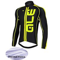 Wholesale Cycling Wear Winter Xs - 3 Colors 2016 Men's Winter Maillot Cycling Clothing   Bicycle Wear Ropa Ciclismo Winter Thermal Fleece Bike Cycling Jersey Cycling Tops