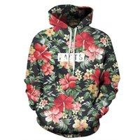 Wholesale Dropship Clothing Women - Wholesale-Raisevern New 3D Hoodies Floral Facts Print Men Women Brand Clothing Hip Hop Sweatshirt Unisex Couples Hoody Tops Dropship