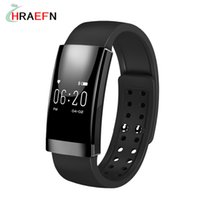 Wholesale- Hraefn MS01 Smart Band Heart Rate Monitor smartband sport Bracelet Waterproof IP65 hommes montres pour IOS Android SmartPhone
