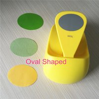 oval paper punch - Large Size Shaper quot Oval Punch Craft Foam Puncher Kids DIY Tools Paper Cutter Scrapbooking Ellipse Hole Punches
