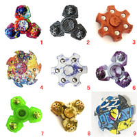 Wholesale Special For Games - 2017 Newest Special Shape EDC Fidget Spinner Camouflage Spinner For Toys DHL Spinner Game for kids Adult Retail Box