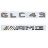 """Matte Black Letters /""""GL 63 //////AMG/"""" Trunk Badge Emblem Sticker for Benz GL63 AMG"""