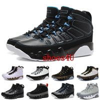 [Com caixa] 2017 Cheap Retro 9 IX Basketball Shoes para homens, moda Alta qualidade Sneakers Trainer Athletics Boots Retros J9 Outdoor Shoes Eur