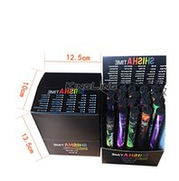 Wholesale Electronic E Shisha - E ShiSha Hookah Pen Plastic Disposable Electronic Cigarette Pipe Pen Cigar Fruit Juice E Cig Stick Shisha Time 500 Puffs Colorful 35 Flavor