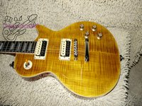 Livraison gratuite Slash Appetite Natural yellow burst Guitar Ebony fingerboard guitariste électrique