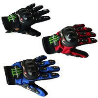 Wholesale Devil Motorcycle - Motorcycle gloves, all refers to off-road racing, motorcycle riding, Knight gloves, men's anti drop devil claw gloves, MONSTER