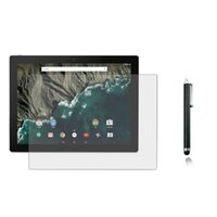 """Wholesale Google Guards - Wholesale- 1x Film +1x Cloth +1x Stylus , Anti-Glare Matted Screen Protector Guards Matte Protective Films For Google Pixel C 10.2"""" Tablet"""