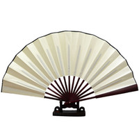 Wholesale Cloth For Dancing Party - Chinese Black Fabric Cloth Handheld Folding Fan For Pratice Performance Dancing Ball Parties Unisex - Two Size (13 10 inch) (3 Colors Select
