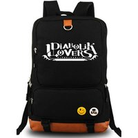 Wholesale Diabolik Lovers - Diabolik lovers backpack New letter daypack Komori Yui schoolbag Cartoon rucksack Sport school bag Outdoor day pack
