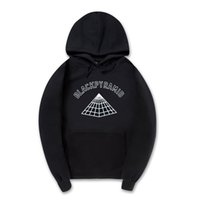 Wholesale Button Clothes Wholesale - Wholesale- New MEN AND women Hoodies black pyramid sweatshirts Hip hop Streetwear brand clothing Hooded hooded sportswear