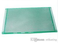 Wholesale Experiment Pcb - 2pcs lot 9x15 cm Single Side Tinned Prototype PCB Universal Board Experiment Matrix Circuit Board 90*150 mm Free Shipping