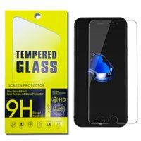 Wholesale Glass Screen Phones - For LG K20 Plus X Power Tempered Glass Screen Protectors For iPhone X 8 7 6 Plus J7 Prime J3 Prime ZTE Z981 Mix Phone Screen Protecter