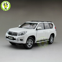 Wholesale cruiser ship - 1 18 Toyota Land Cruiser Prado Diecast SUV Car Model Toys for gifts collection hobby White No Pattern