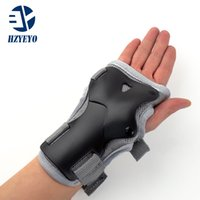 Wholesale Roller Skates For Men - Wholesale- Wrist Guards Support Palm Pads Protector For Inline Skating Ski Snowboard Roller Gear Protection Men Women HZYEYO H008