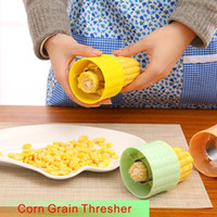 Wholesale Corn Separator - High Quality Creative DIY Corn Grain Thresher Kitchen Gadget Separator The Operation Simple Efficiency Is High The Cleaning Is Convenient.