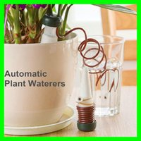 Wholesale Plant Flower Automatic Watering Device Useful Houseplant Flowesr Drip Waterer System Keep Soil Moist Sprinkler Tools