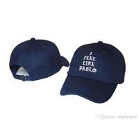 Wholesale Kobe Hat - 2017 new fashionMale Letter I FEEL LIKE KOBE pablo kanye west Baseball Cap Hip Hop Brand Snapback drake Hat Women Men Fishing Cap Gorra Bboy