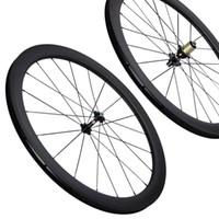 Wholesale 12 inch bike wheels for sale - Group buy year warranty inside spokes nipples mm full carbon road carbon bike wheels k weave s within nipples carbon wheels