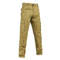 Wholesale Tactical Training Uniforms - Wholesale New Men's Cargo Pant Men Combat Multi-Pockets Casual trousers overalls trousers uniforms tactical training men trousers K9002