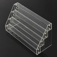 Wholesale Large Acrylic Display Stands - 4 Tier Clear Acrylic Display Stand Large Rack Organizer Nail Polish Wall Cosmetic Storage