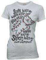 Wholesale funny korean t shirts - Wholesale- novelty Soft Kitty letter Print Women T-Shirt 2017 summer fashion harajuku brand korean tee shirt femme funny punk Tops