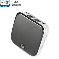 Wholesale Toslink Receivers - New Bluetooth 4.1 Transmitter and Receiver,Wireless 3.5mm Audio Adapter, aptX Low Latency Digital Optical TOSLINK for TV,Home Stereo System