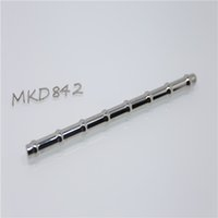 Wholesale Metal Dilators - Super long Urethral Sound urethral dilators insertion stainless steel metal male sex toys penis plug 842